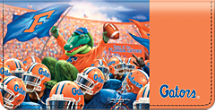 Gator Spirit Checkbook Cover