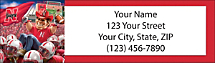 Husker Spirit Return Address Label