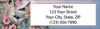 Family Return Address Label