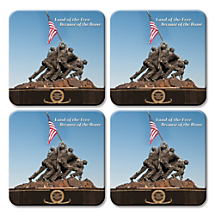 Honor Those Who Protect Our Nation Every Day with Patriotic Coasters