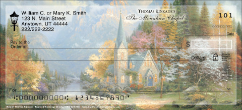 Best of Thomas Kinkade Personal Checks