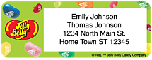 Jelly Belly Return Address Label
