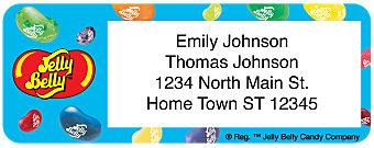 Jelly Belly Return Address Label