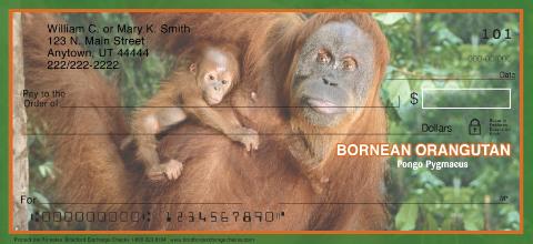 Primates Personal Checks