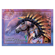Memorable Holidays Start with a Beautiful Native American-Inspired Art Card