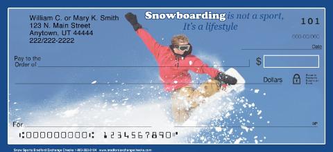 Snow Sports Personal Checks