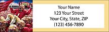 Seminole Spirit Return Address Label