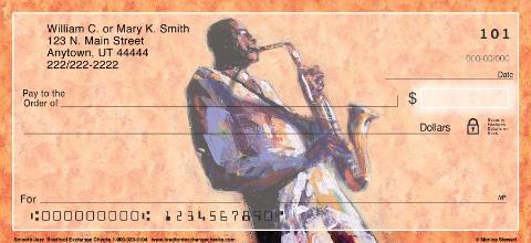 Smooth Jazz Personal Checks