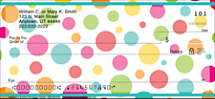 Polka Dots Personal Checks