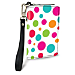 Polka Dots Small Wristlet Purse