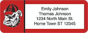 University of Georgia Return Address Label