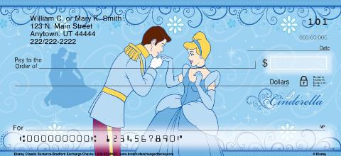 Disney Classic Romance Personal Checks