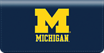 University of Michigan Checkbook Cover