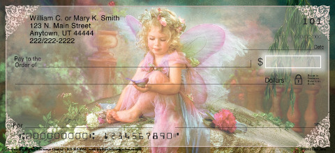 Enchanting Fairies Personal Checks