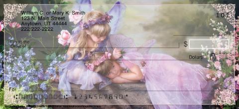 Enchanting Fairies Personal Checks