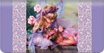 Enchanting Fairies Checkbook Cover