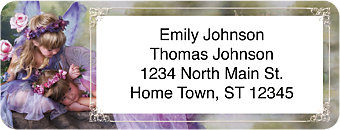 Enchanting Fairies Return Address Label