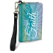 Faith Hope Christ Small Wristlet Purse