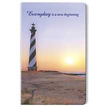 A Calming Coastal Getaway Awaits with this Inspirational Lighthouse Notebook