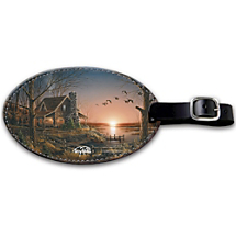 This Artistically Inspired Bag Tag Comes with Its Own View Just for You!