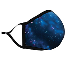 Explore the Vastness of the Universe with This Inspirational Space Fabric Face Mask