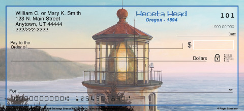 America's Favorite Lighthouses Personal Checks