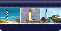 America's Favorite Lighthouses Checkbook Cover