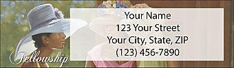 Sunday Hats Return Address Label