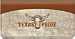 Texas Pride Checkbook Cover
