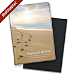 Footprints Premium Fabric Refillable Journal