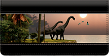 Dinosaurs Checkbook Cover