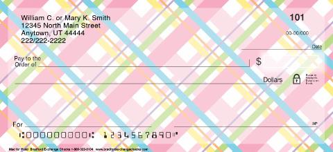Mad for Plaid Personal Checks, Plaid Personal Checks, Plaid Checks