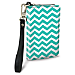 Chevron Chic Small Wristlet Purse