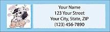 Furry Friends Return Address Label