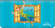 Peter Pan Checkbook Cover