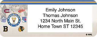 Original Six Return Address Label