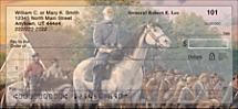 Confederate Generals Personal Checks
