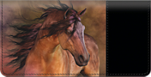 Equus Checkbook Cover