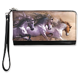 Travel in True Equestrian Style with this Artistic Handbag