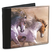 With this Leather-Accented Wallet,  Feel Free and Secure to Roam Without Risk