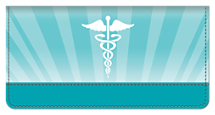 Nurses Cure Checkbook Cover