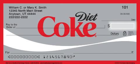 Diet Coke® Personal Checks