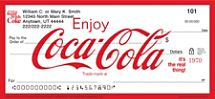 History of Coca-Cola® Personal Checks