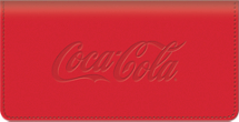 History of Coca-Cola® Checkbook Cover