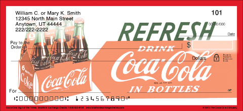 Coca-Cola® Sign of the Times Personal Checks