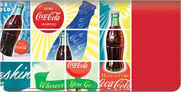 Have a Coca-Cola Checkbook Cover