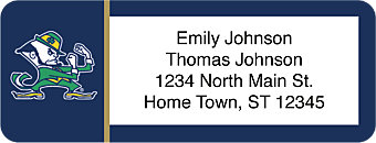 University of Notre Dame Return Address Label