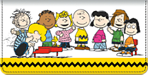 Classic Charlie Brown Checkbook Cover