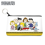 The Peanuts Gang Tags Along with You on this Colorful Handbag
