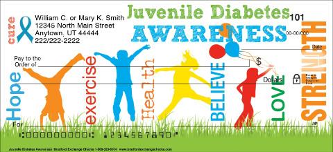 Juvenile Diabetes Awareness Checks